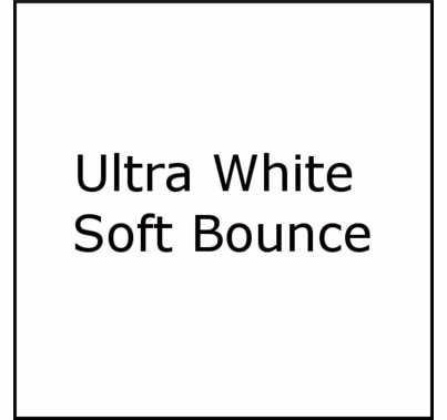 American Grip Super Soft White / Black Bounce 12x12