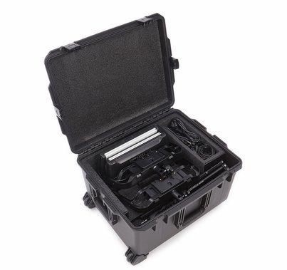 Astra 6X 1x1 LED Duo Traveler Kit - GOLD MOUNT