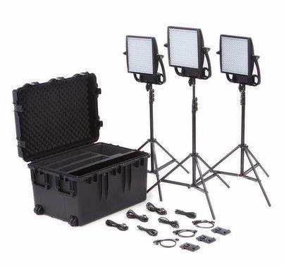 Astra 6X Traveler Trio LED Kit - Gold Mount