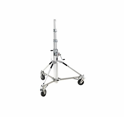 """Long John Silver Stand w/ Pneumatic Wheels Lift 264lbs Up To 224"""""""