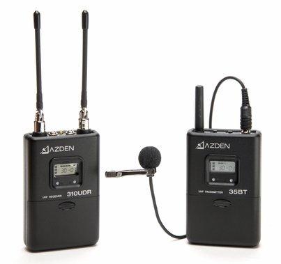 Azden 310LT UHF Diversity Wireless Mic System