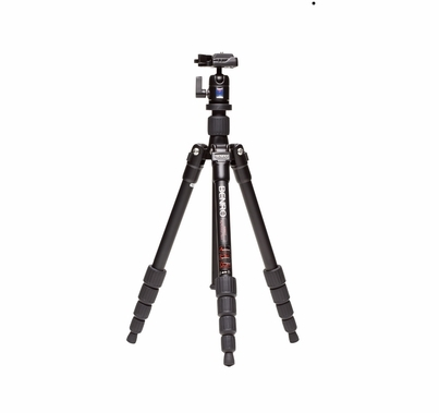 Benro Travel Angel Tripod Kit Aluminum Twist Lock BH00 Head
