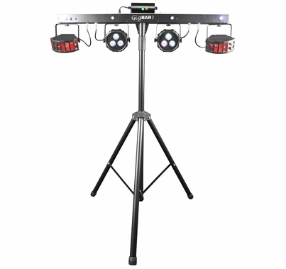 Chauvet 4-in-1 Gig Bar 2 with Stand & Wireless Footswitch