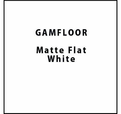 """GAM GAMFLOOR Matte White Temporary Vinyl Floor 48"""" x 100ft"""