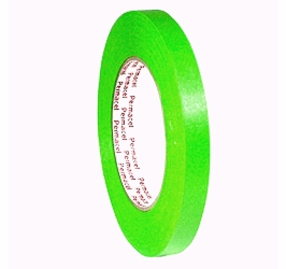 "Green Spike Tape Paper 1/2"" x 60 yds Permacel 724"