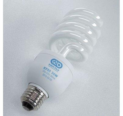 Kino Flo Spiral Compact Fluorescent CFL Daylight  26W Medium Base