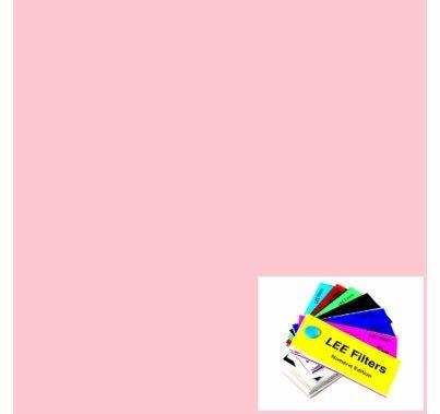 """Lee 035 Light Pink Gel Filter Sheet 21""""x24"""""""