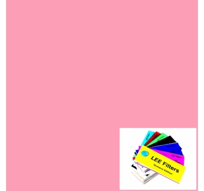 Lee 036 Medium Pink Lighting Gel