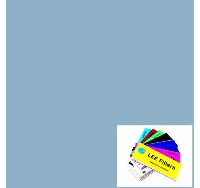 """Lee 063 Pale Blue Lighting Gel 21""""x24"""""""