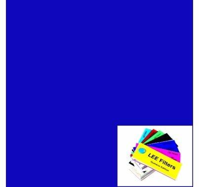 "Lee 071 Tokyo Blue Lighting Gel Filter Sheet 21""x24"""