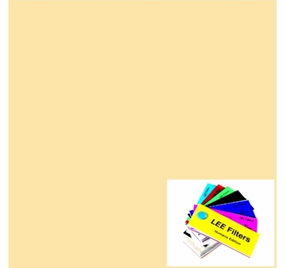 """Lee 103 Straw Lighting Gel Filter Sheet 21""""x24"""""""