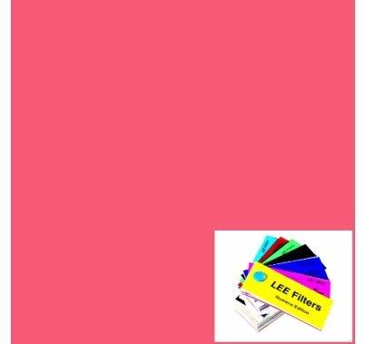 Lee 166 Pale Red Sheet  LS166