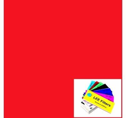 Lee 182  Light Red Sheet  LS182