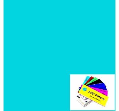 "Lee 183 Moonlight Blue Lighting Gel Sheet 21"" x 24"""