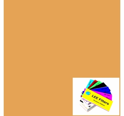 "Lee 205 Half CTO (Orange) Gel  Lighting Gel Filter 48""x25ft Roll  LR205"
