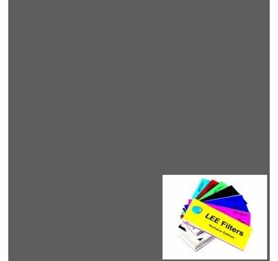 "Lee 210 ND6 Neutral Density (2 Stops)  Gel Filter Sheet 21""x24"""