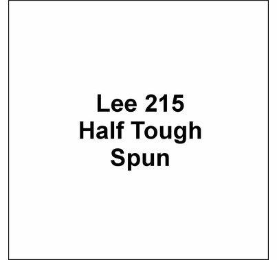 "Lee 215 Half Tough Spun Lighting Gel Diffusion Sheet 21""x24"""