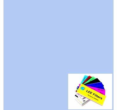 "Lee Filters 218  Eighth 1/8 CTB Blue Lighting Gel Filter Roll  48""x25ft"