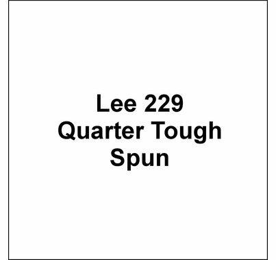 """Lee 229 Quarter Tough Spun Lighting Gel Sheet 21""""x24"""""""