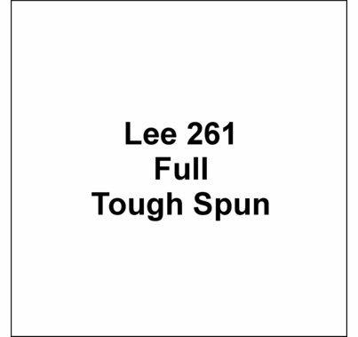 """Lee 261 Full Tough Spun Diffusion FR Lighting Gel Sheet 21""""x24"""""""