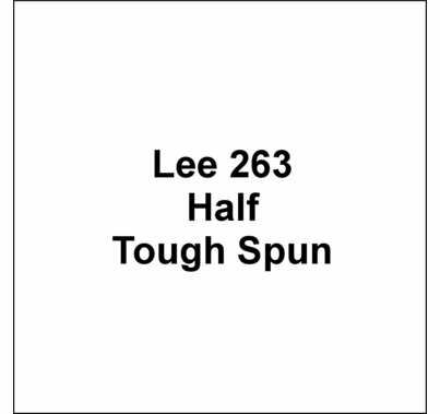 "Lee 263 Half Tough Spun Diffusion FR Lighting Gel Sheet 21""x24"""