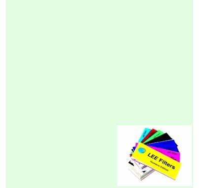 "Lee 278 1/8 Plus Green Lighting Gel Filter Roll 48""x25ft"