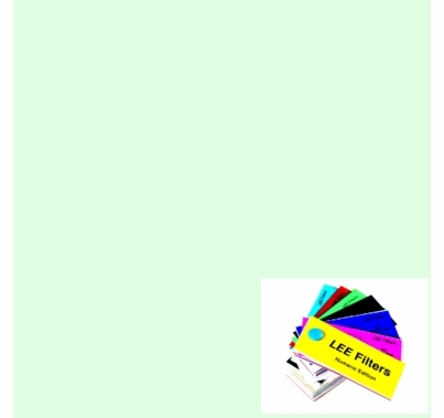 "Lee 278 Eighth Plus Green Lighting Gel Filter Sheet 21""x24"""