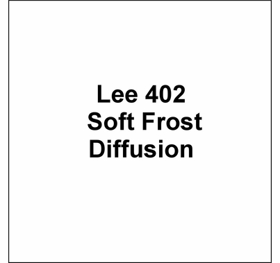 "Lee 402 Soft Frost Diffusion Lighting Gel Wide Roll 60""x20ft"