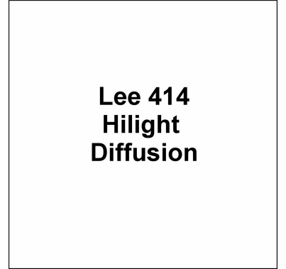 """Lee 414 Hilight Diffusion Lighting Gel Wide Roll 60""""x20ft"""