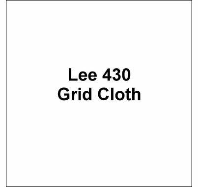 """Lee 430 Grid Cloth Diffusion Lighting Gel Roll 54""""x25'"""