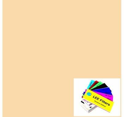 "Lee 442 Half CTS Straw Lighting Gel Filter Sheet 21""x24"""