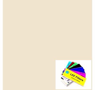 "Lee 444 Eighth CTS Straw Lighting Gel Sheet 21""x24"""