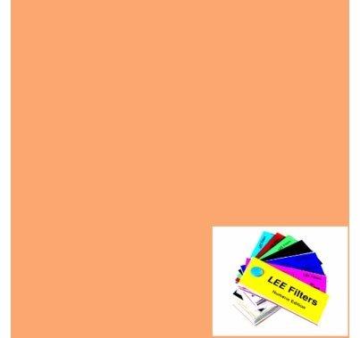 """Lee 624 Full Digital LED CTO Lighting Gel Filter Sheet 21""""x24"""""""