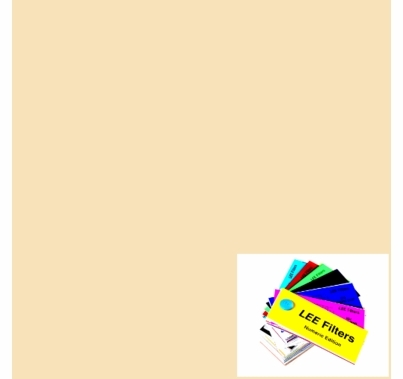"Lee 764 Sun Colour Straw Lighting Gel 21""x24"""