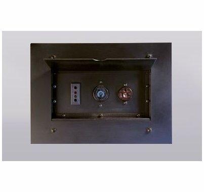 Lex Power Plus Wall Pocket w/ (2) 20A Edison 5-20 Receptacles