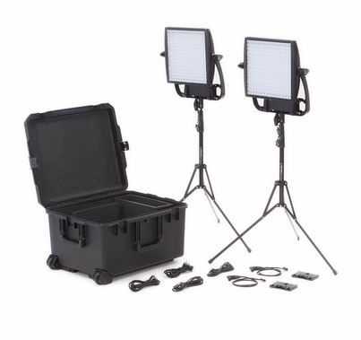 LitePanels Astra 3X BiColor Duo Traveler Light Kit V-Mount
