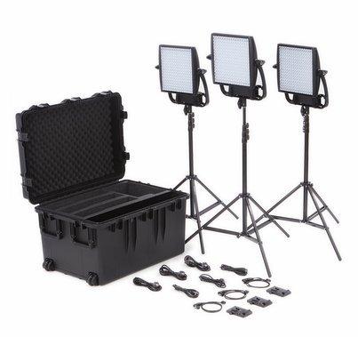 Astra 6X LED Traveler Trio Kit V-Mount