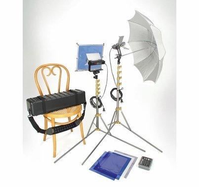 Lowel Go Easy V Light Kit with Soft Case V1-90ULBZ