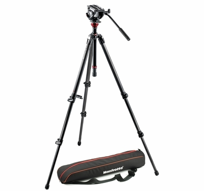 Manfrotto MVH500AH, 755CX3 Camera Tripod Kit
