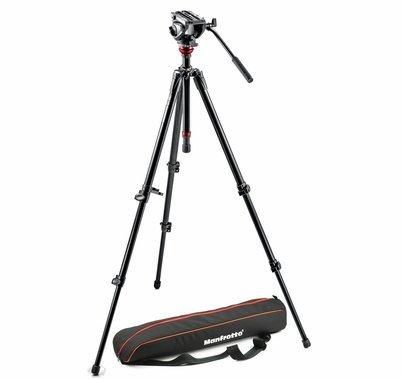 Manfrotto MVH500AH, 755XB CameraTripod Kit