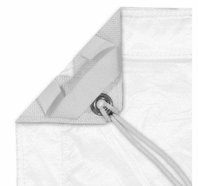 Modern Studio 20'x20' Silent Sail 1/2 Grid Cloth with Bag