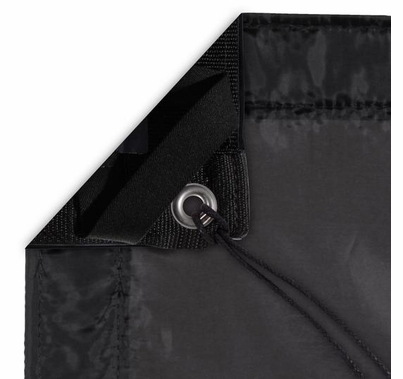 Modern Studio 20'x20' Silk (Artificial Black) with Bag