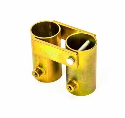 """Modern Studio Adjustable Angle Pipe Receiver Bracket for 1 1/2"""" Pipe"""