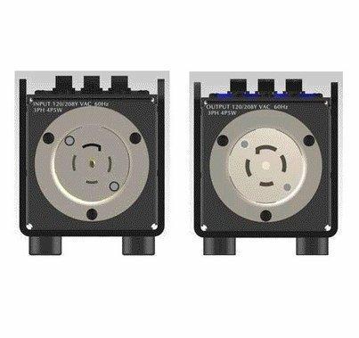 Motion Labs Breakered Stringer Box Twist Lock L21-30 I/O x 3 Edison
