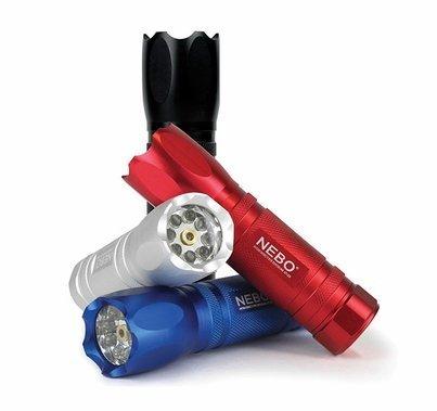 Nebo CSI LED Flashlight with Red Laser Pointer, 5077