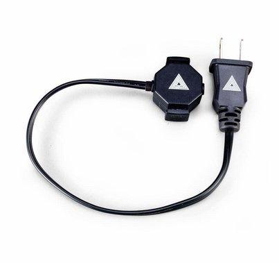 Quasar Polarized Bi-Pin T8 Power Adapter