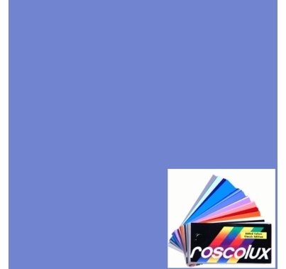 "Rosco 62 Booster Blue Lighting Gel Sheet 20""x24"""