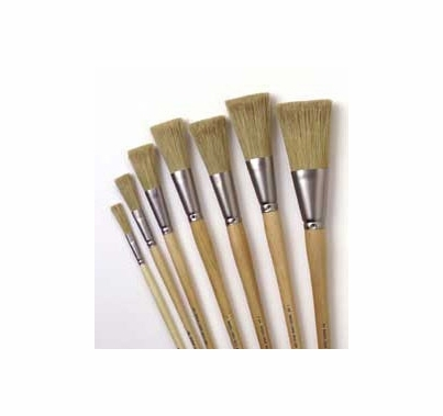 "Rosco 7 Brush Kit  Iddings Fitch Paint Brush (1/4""-2"")"