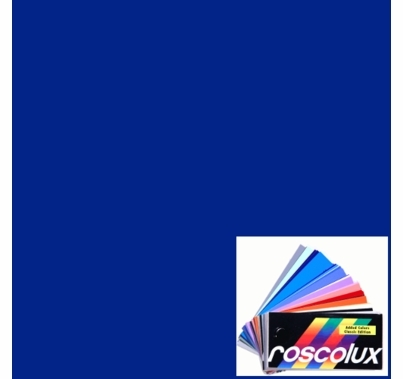 Rosco 80 Primary Blue Lighting Gel Filter Sheet Roscolux 20x24 inch