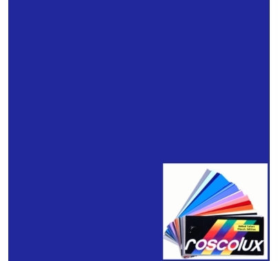 "Rosco 84 Zephyr Blue Lighting Gel Sheet 20""x24"""